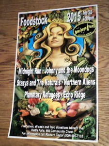 The Foodstock Poster