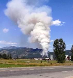 Colville Fire July 3rd