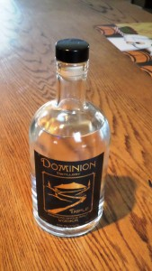 Grappa from Dominion Distillery