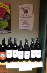 Our wines on sale at Meyers Falls Market